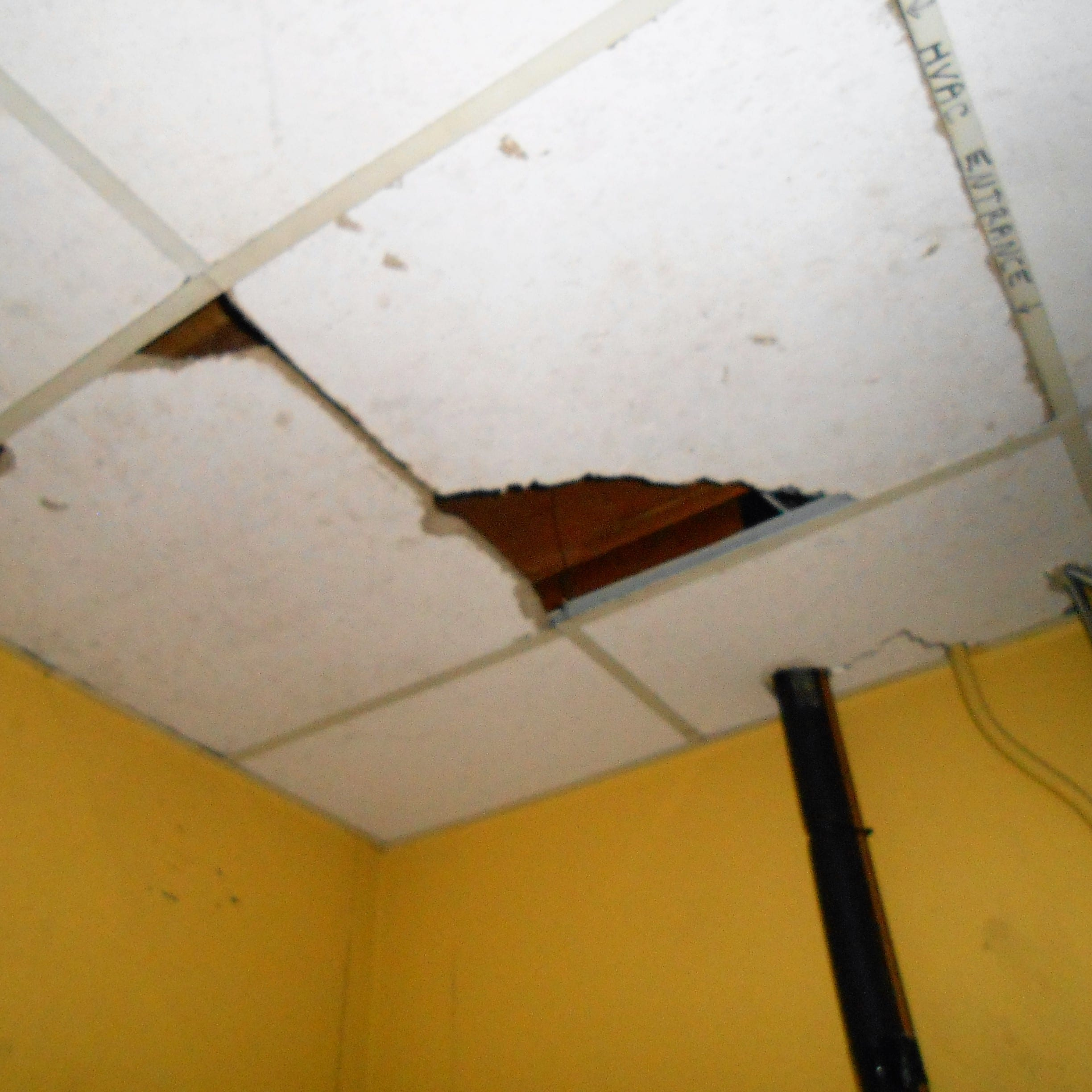 Ceiling Tiles Repair The Service Company of Virginia