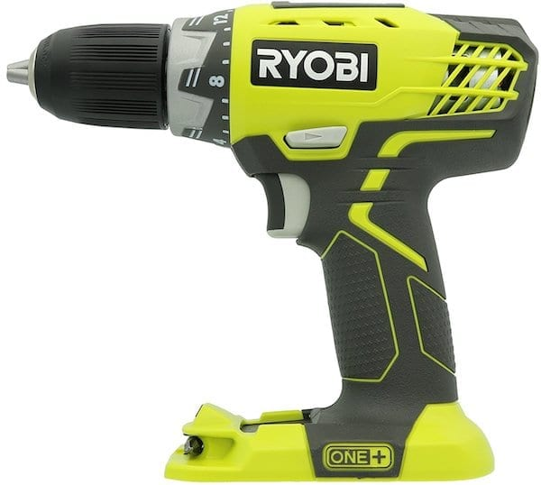 best cordless drill Ryobi P208 One+ 18V Lithium Ion Drill : Driver with 1:2 Inch Keyless Chuck