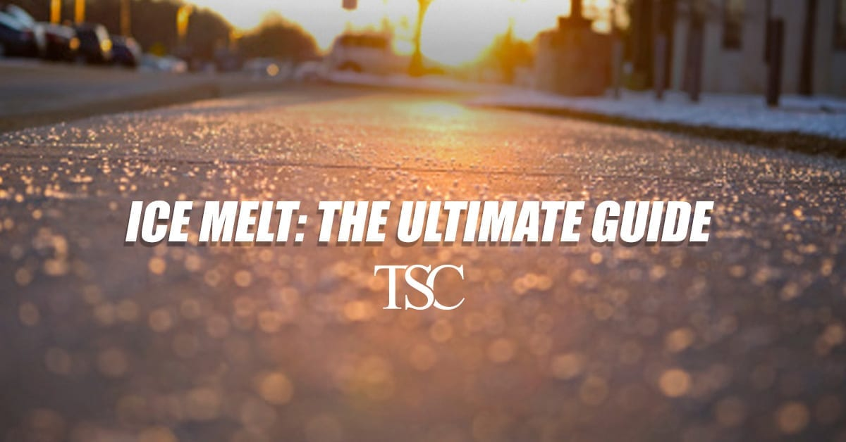 Ice Melt Ultimate Guide The Service Company