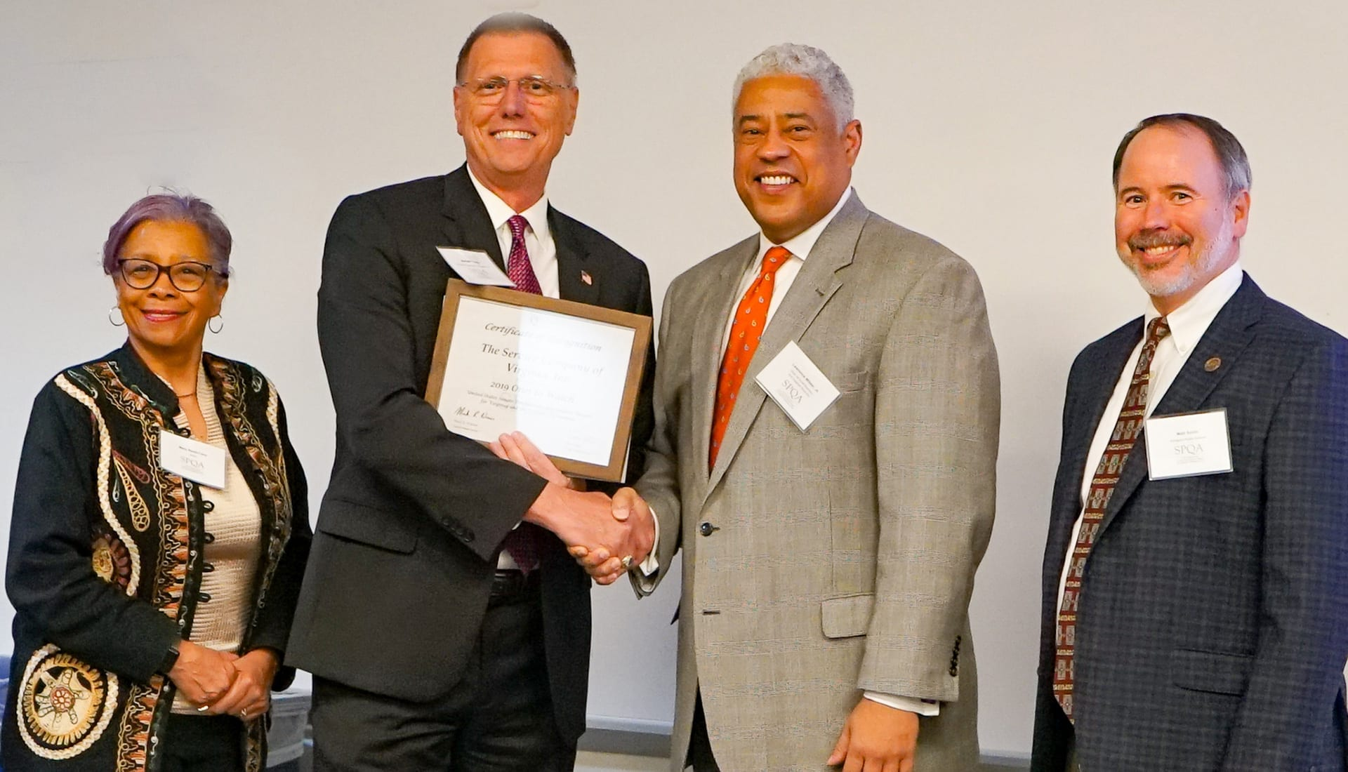 The Service Company Mike Young SPQA Award